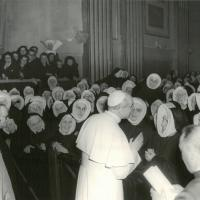 For the Beatification, 250 Sisters of the Cenacle came to represent all the Provinces of the Congregation, some 60 members of the Couderc family; representatives of the birthplace of Mother Thérèse and Lalouvesc, etc.